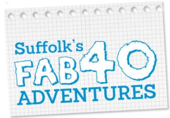 Suffolk's Fab40 Adventures logo