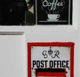 Post box and